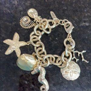 Lilly Pulitzer Beach Charm Bracelet
